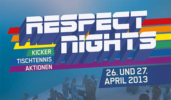 Flyer Respect Nights 2013