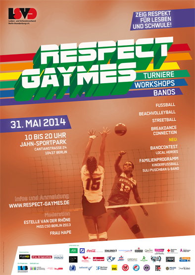 Respect Gaymes Plakat